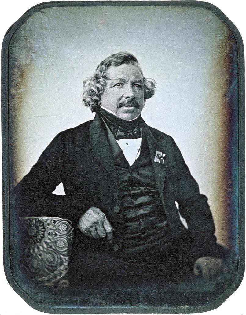 Louis Daguerre La Dagherrotipia