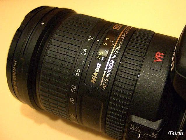obiettivo Nikon 18-200